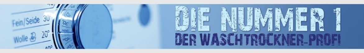 Waschtrockner Banner