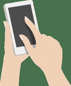 LG Waschmaschine mit Trockner Smartphone